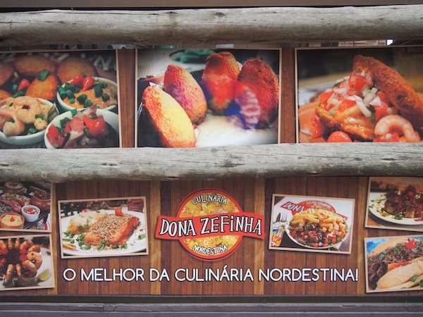 Gourmet foodie travel tips: Dona Zefinha offers typical Brazilian cuisine from the North-East of the country ...