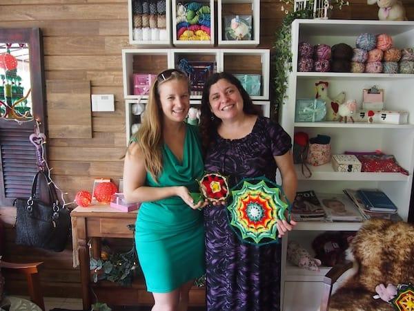 ... gelingt mir schon bald mein ganz eigener Weihnachtsstern hier aus Brasilien: Danke Dir liebe Renata für Deine Geduld und Deinen Empfang hier in Porto Alegre, Brasilien!