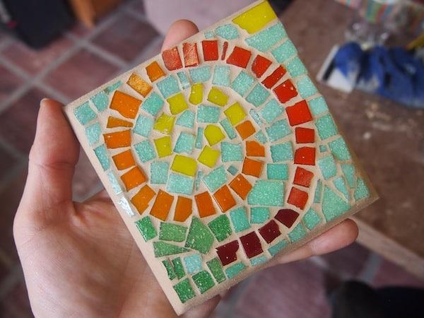 Lust auf Kreativität: Die Spirale in den Farben meines Reiseblogs hier in Brasilien ...