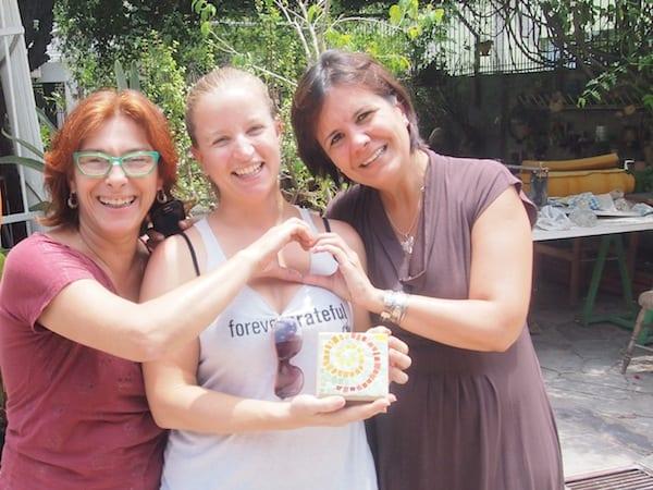 Kreativ Reisen mit Künstlern aus Porto Alegre, Brasilien, im Sommer 2014.