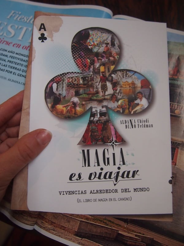 Ich liebe das Reisebuch der beiden erfolgreichen argentinischen Autoren & Reiseblogger auf den ersten Blick ...