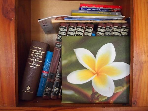 Reading corner ...