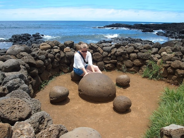 … make me happy: Here, I charge my batteries on a rock that is said to be special for its magnetic properties.