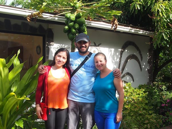 Neue Freundschaften beispielsweise: Mein herzliches Treffen mit dem liebenswerten Paar Lorena & Washington, die noch dazu in Kürze Eltern sein werden (!), macht diesen Aufenthalt nochmals speziell.