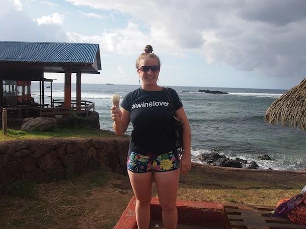 Urlaub muß (auch mal) sein: Maracuja-Eiscreme ...