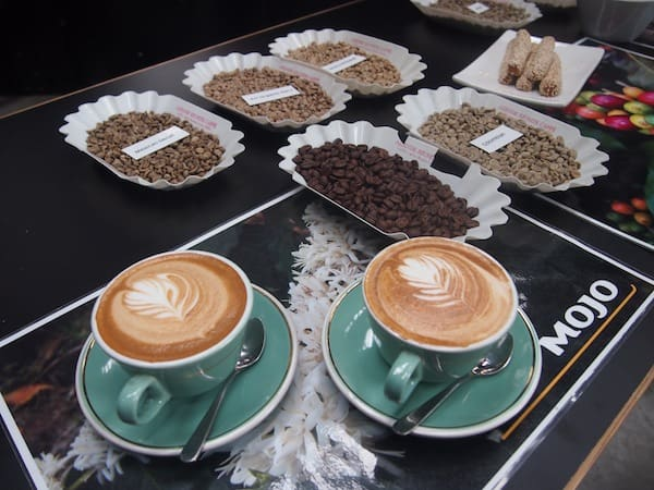 I just looove the flavours & aromas of a great place called MOJO Coffee!
