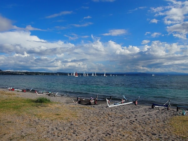 Welcome to Lake Taupo, Ngahuia's home in the Central North Island of New Zealand!
