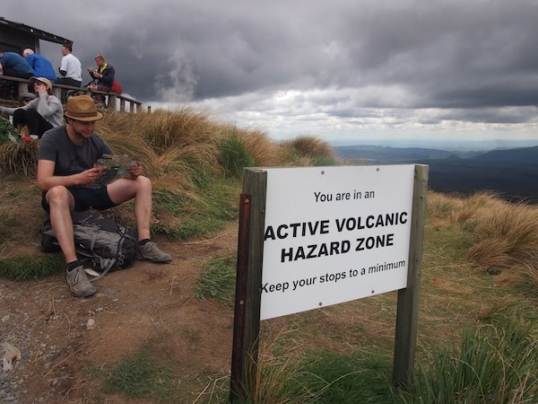 … And be rather casual, so long as the volcanoes are not erupting, clearly!