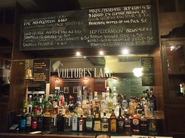 "… for even more gastronomy (ad)ventures to come: Best for you to stop at ""Vulture's Lane"" on Vulcan Lane …"