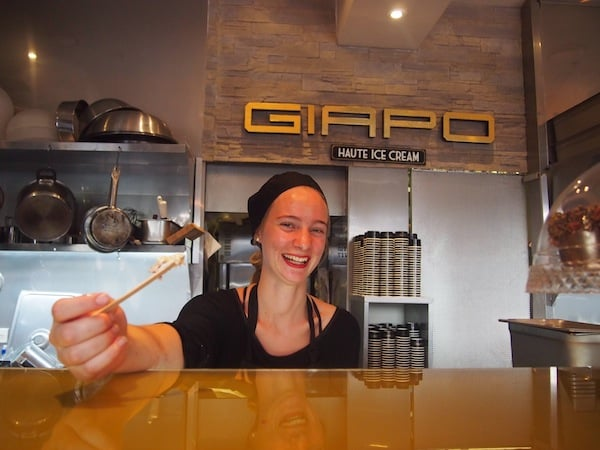 "Giapo Ice Cream Parlour upon Queens Street, Auckland City really takes ""I scream"" to another level. ;)"