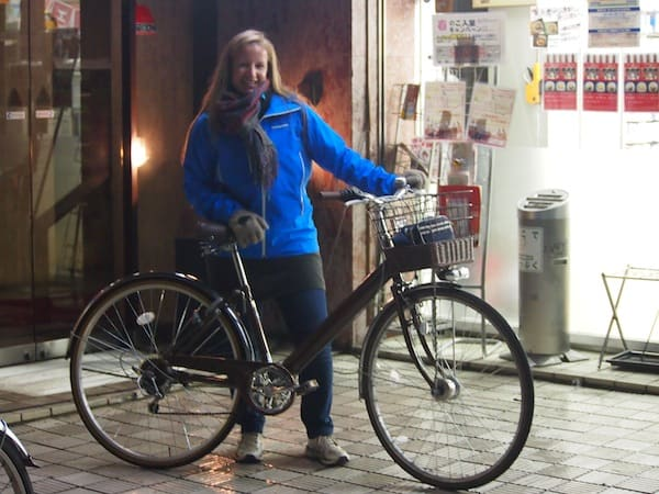 On yer bike: Off we go exploring Kyoto!