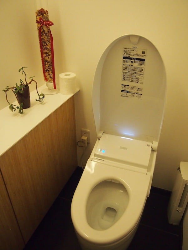 "And, for all needs and to complete the food stories on Japan, there has to be a picture of a ""real Japanese toilet"", complete with beautifully heated toilet seats, ""flush & brush"" options, sometimes deodorant, music & more … LOVE it !!!"