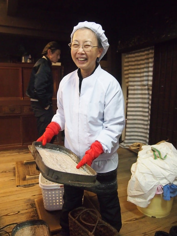 "Beyond the market is Kanazawa's historic town centre, where thanks to Prof. Masao Mizuno's guidance and contacts, I meet wonderful ""Miso Lady"" Atsumi …"