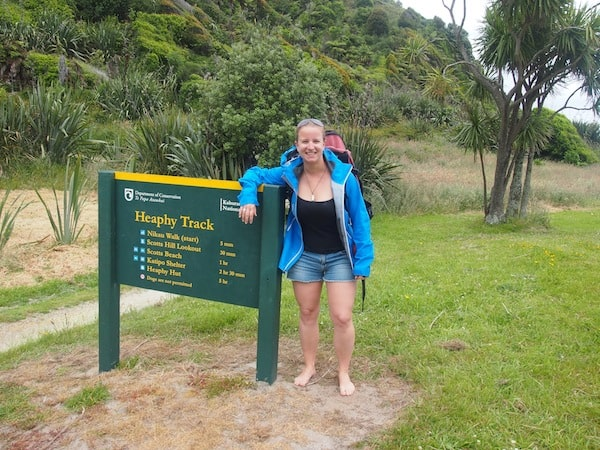 Starting the Heaphy Track ...