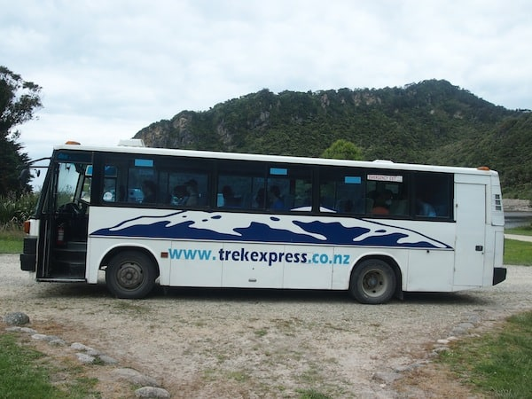 "TrekExpress is a good company I can recommend for ""taking you there"" starting the Heaphy Track in style!"