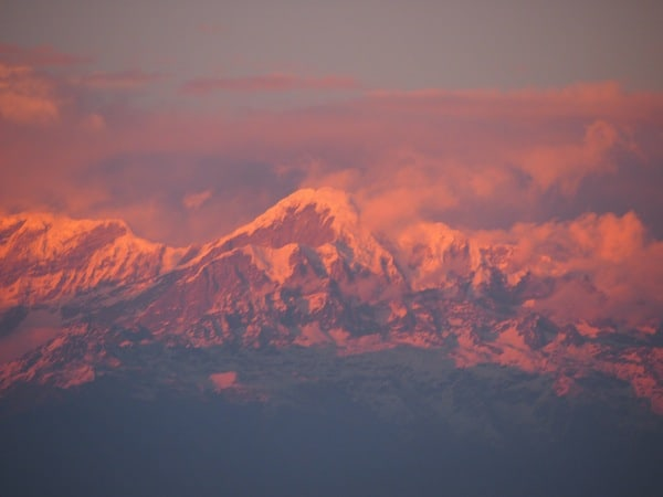 Finding inspiration in faraway places such as the mighty Himalayas of Nepal ...
