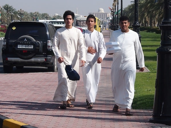 The faces of Sharjah: Young students on their way to uni ...