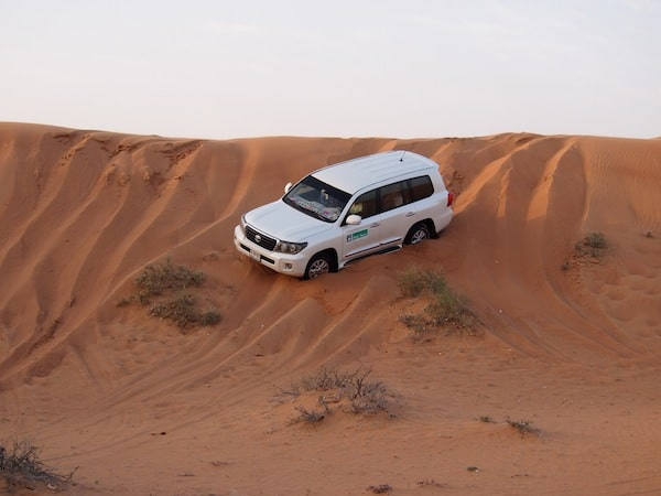 ... going wild across the dunes with these ultra-modern cars whose drivers can handle every turn (and slope), as it is..!
