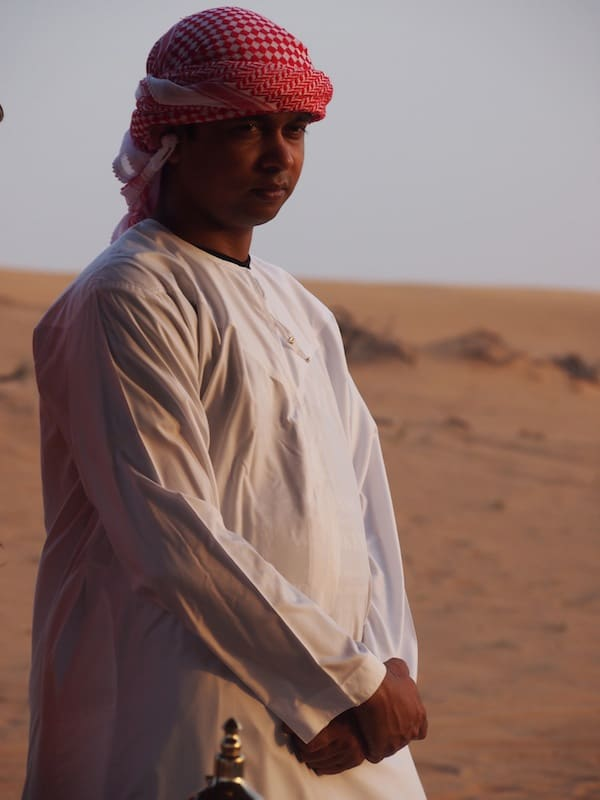 Stopped by the magic of our encounter with a Bedouin camp ...