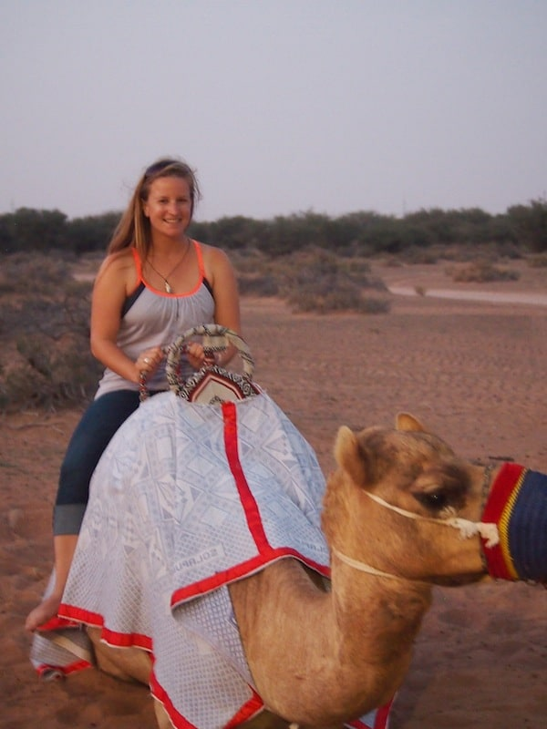 ... as I prepare for going completely Bedouin-style (at least for a while ;) Riding a big camel in the sand, that is!
