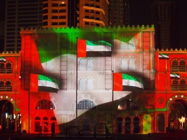 The magic of the Sharjah Light Festival unfolds ...