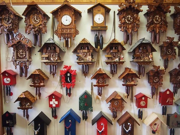 The story of the cuckoo clock ...