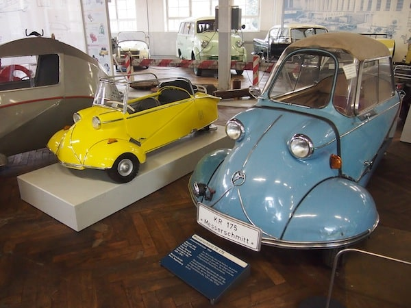"Heading over to Schramberg, we find creativity as expressed in this local ""car & clock museum"": Have you ever seen the look of these cars before?"
