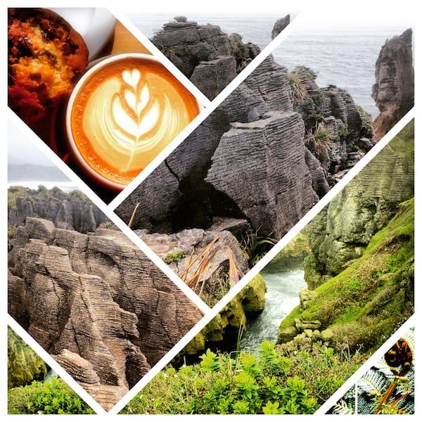 """Neben den vielen (Natur)Abenteuern lockt hin & wieder auch der Genuss einer """"zivilisierten"""" (und überaus schön anzuschauenden!) Tasse Kaffee ..!"""