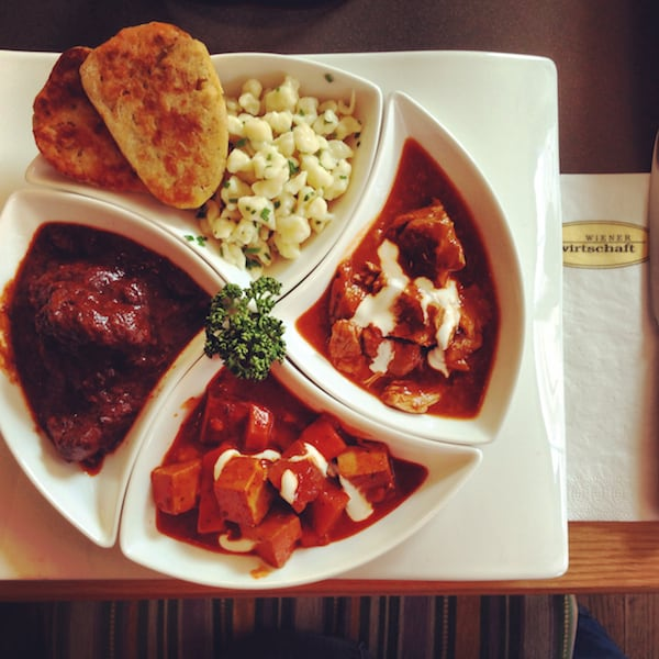 Goulash Trio. Simply delightful, don't you think? Don't miss on your next visit to Vienna!
