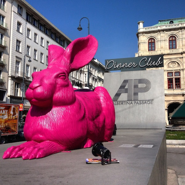 BIG PINK RABBIT!