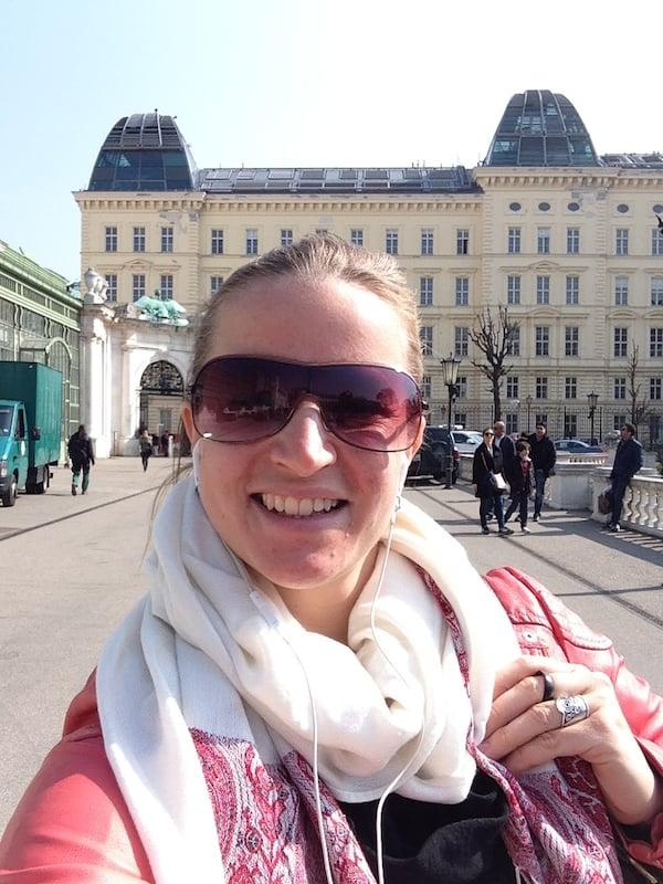 Wien, ich mag' Dich: Sonnengrüße zum Frühjahrsbeginn in der Donaumetropole!