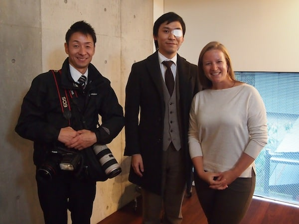 These gentlemen have come specifically to interview me for a feature of their local Kanazawa city magazine, investigating the interest from an international traveller coming to Kanazawa for creative tourism!