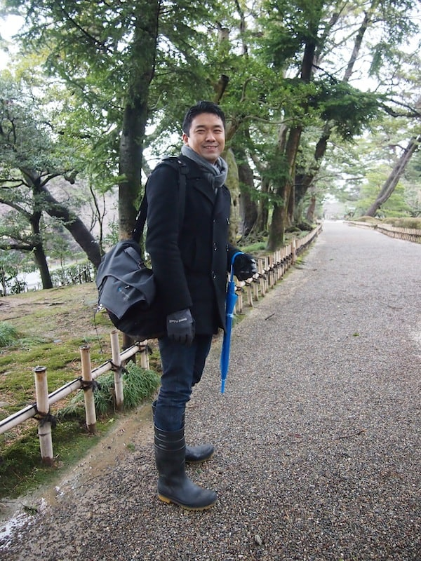 Dear Kentaro knows the way: Thank you for your expert guidance around all things culture & creative travel in Kanazawa!