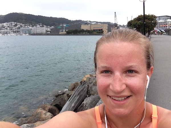 From going jogging on a windy morning in Wellington, New Zealand's capital city ...