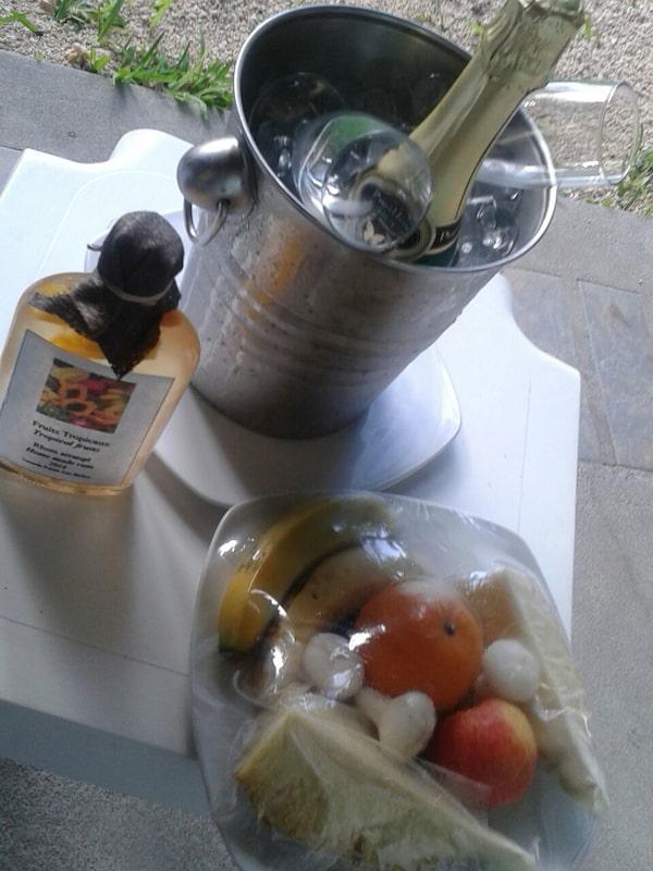 Rum-Geschenk des Hotels an uns !! / Foto: Antonia