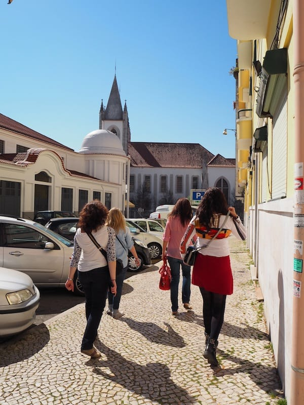 The second stop on our total of six foodie stops around Campo de Ourique district of Lisbon ...