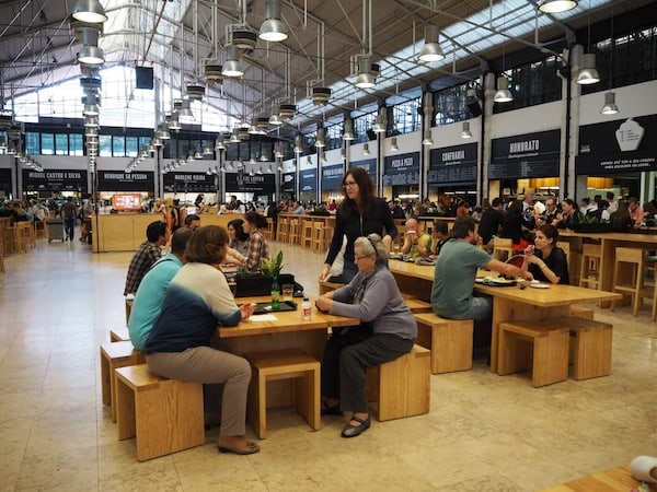 Foodie fans should also consider heading to Mercado da Ribeira, a recently refurbished and very chic (and tasty!) food market right by Cais do Sodré ...