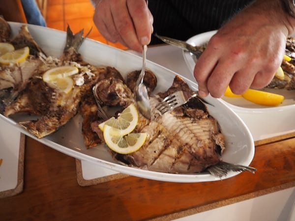 ... still dreaming about this wonderful fresh fish meal today ..!