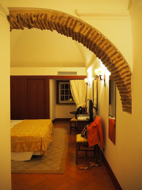 ... I am welcomed by the unique architecture and comfort of my (historic) room ...