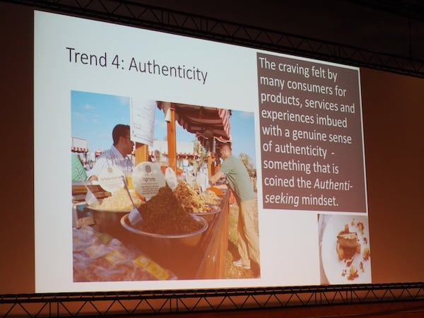 ... talking about important and ever-lasting trends, such as authenticity in tourism and travel.