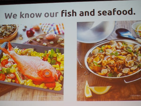 "Authenticity, too, is this: ""We (want to) know our fish and seafood."" Yes!"
