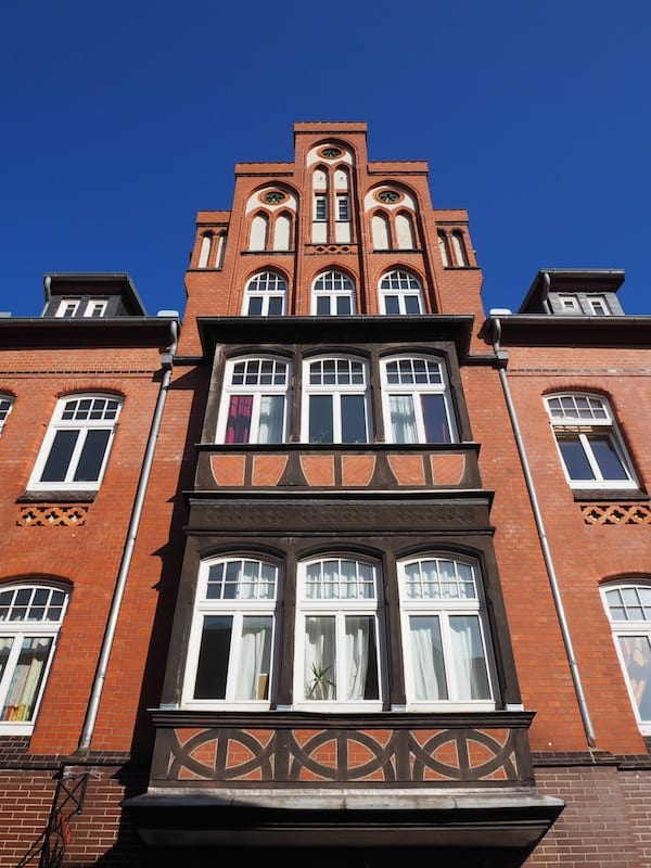 The houses of Lüneburg ...