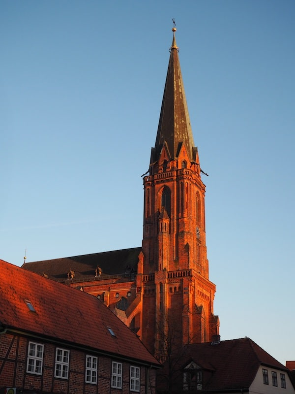 ... church towers ...