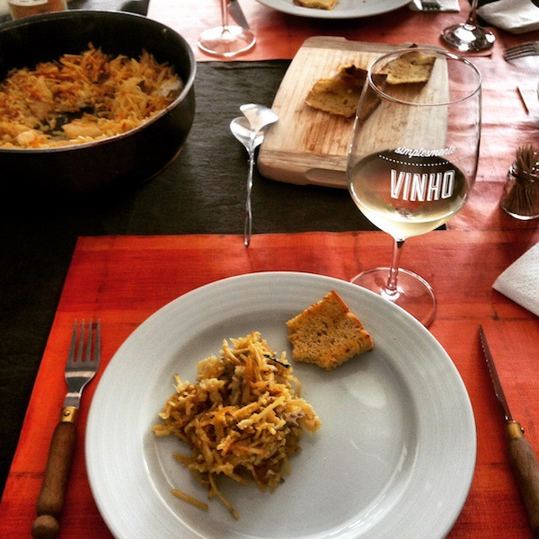 "Porto also means being welcomed to the comfort of a real ""casa de familia bem portista"", as well as their beautiful codfish (bacalhão) signature dish."