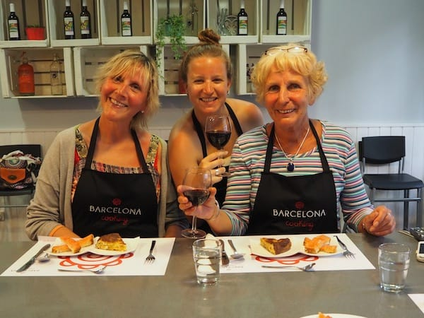 My pleasure to be cooking with you - a perfect way to make new like-minded friends while travelling.!