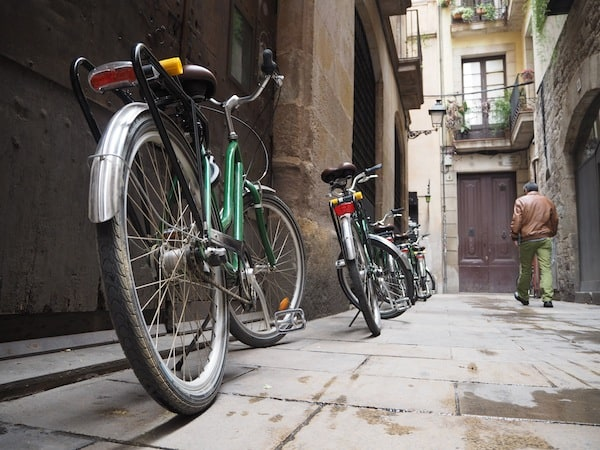 On yer' bike: City exploration with Green Bikes Barcelona ...