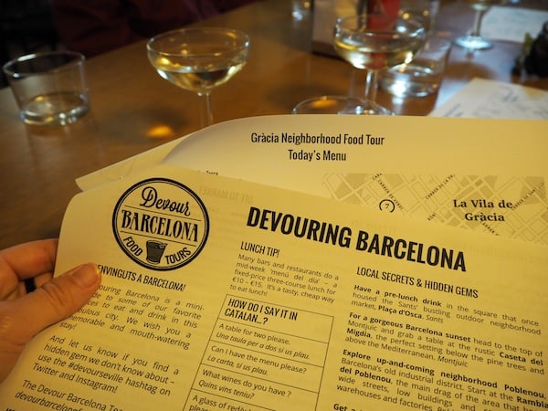 "... starting ""Devouring Barcelona"" ..."