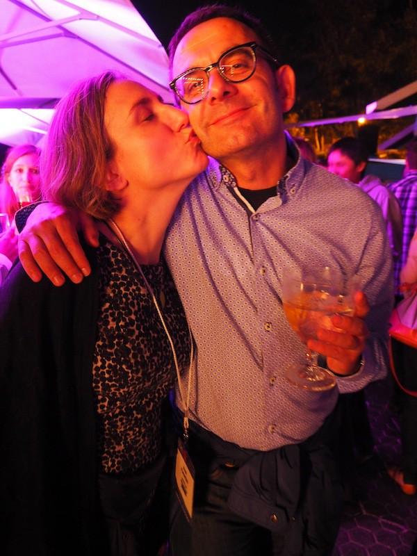 ... including dear Jaume Marin & Ana Pilar: Besos, guapos !!!
