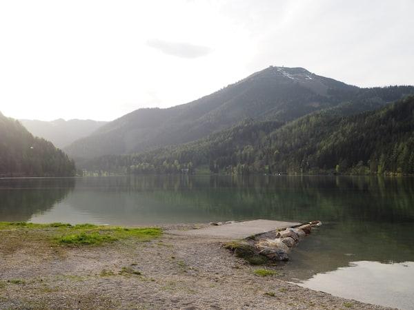 … gestaltet sich für mich ganz magisch: Frühlingsbeginn im Bergland am zauberhaften Erlaufsee.
