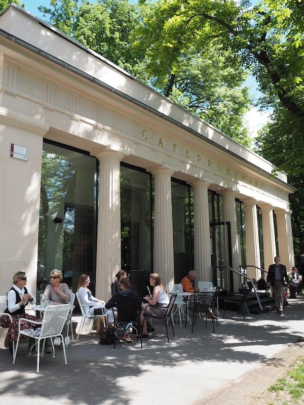 In Graz selbst habe ich das nette Café Promenade für mich entdeckt ...